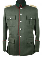 German M36 Officers Field-grey Gabardine Tunic