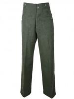 German M37 Feild Green Wool Breeches