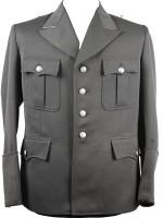 German Officer M34/37 Stone Gray Tunic (SD)